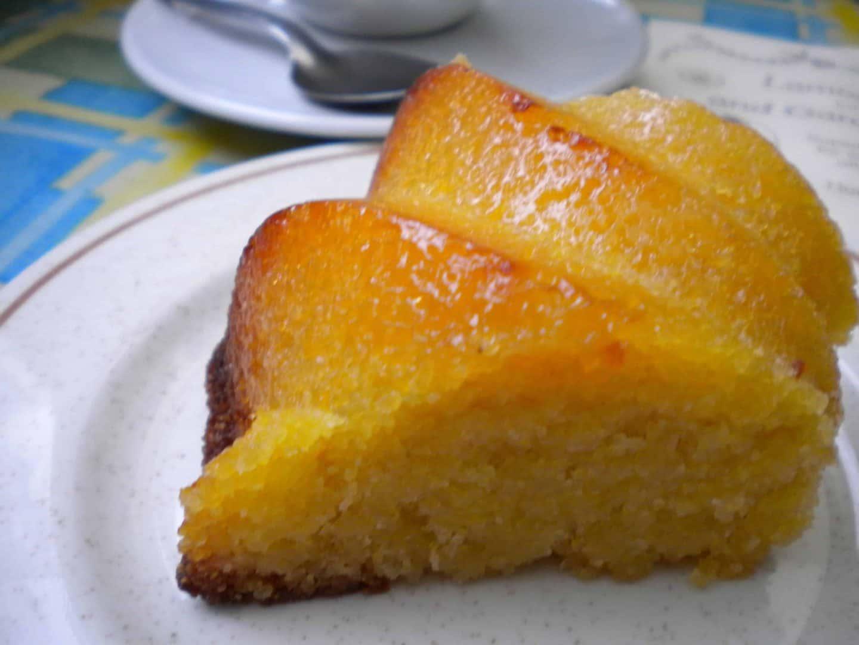 Gluten free Cake at Lamorna Pottery