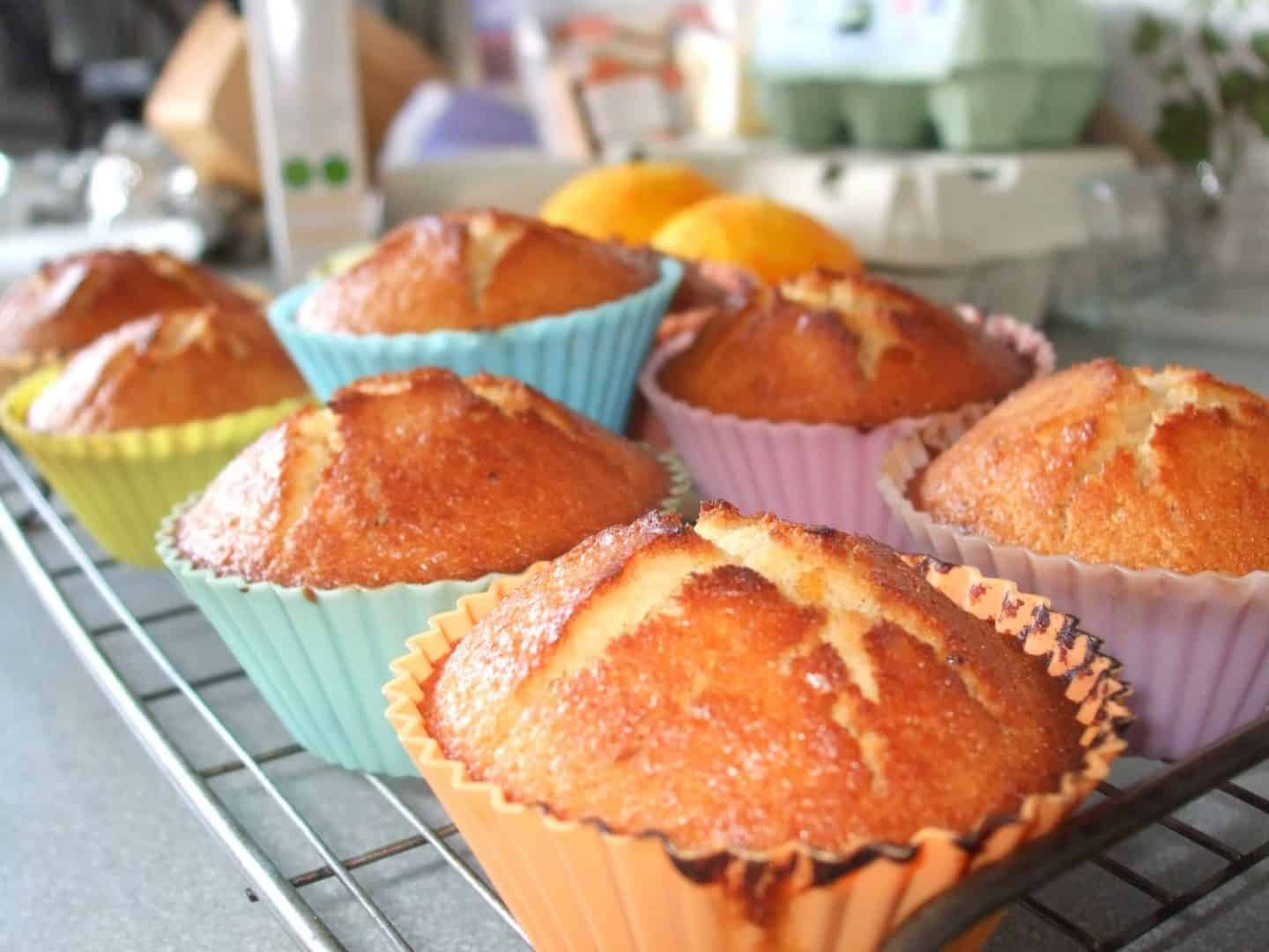 The Great Gluten Free Recipe Challenge: dark chocolate and orange muffins