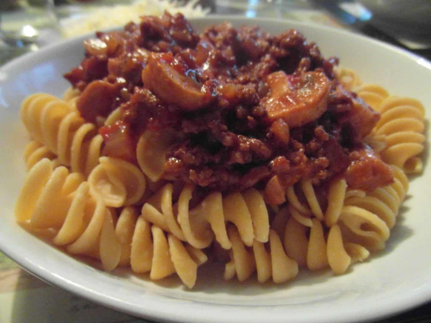 Chickpea pasta – something a bit different!