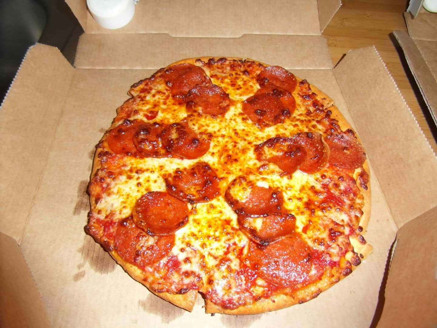 Gluten free Domino's pizza….tasty, but only for the rich?