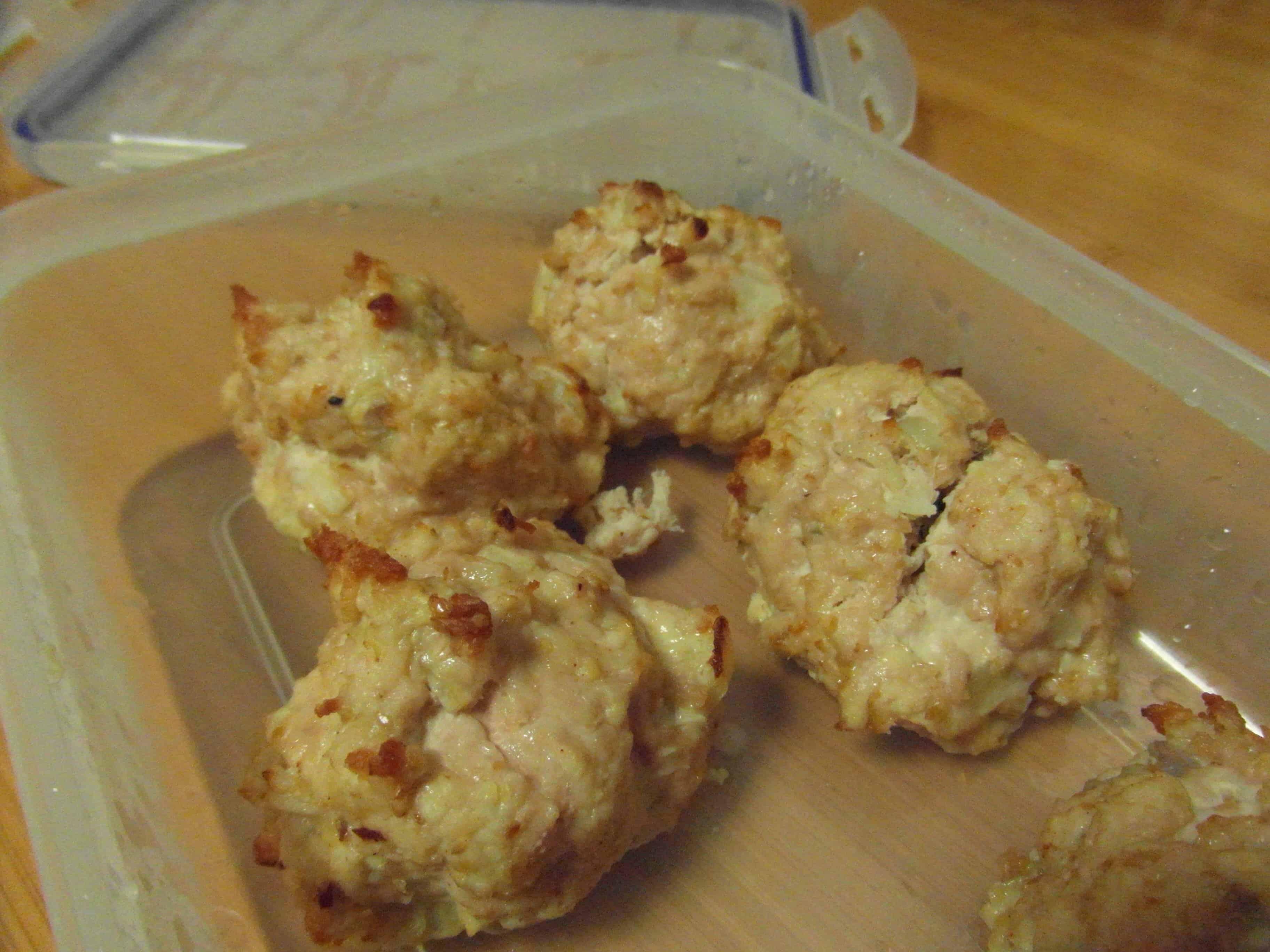 Meatballs for breakfast...interesting!