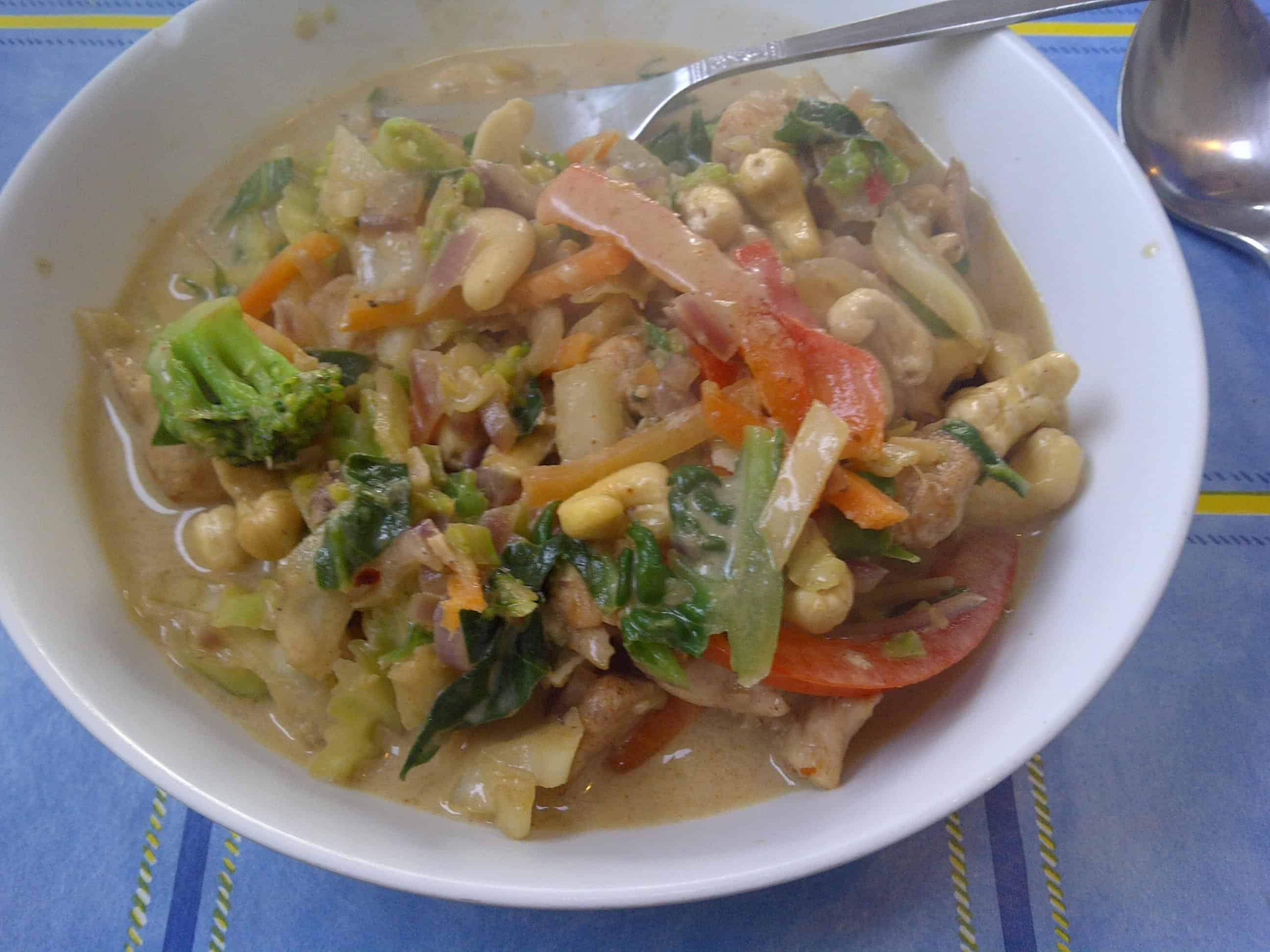 Mmm, thai curry - so tasty, and so good for you!