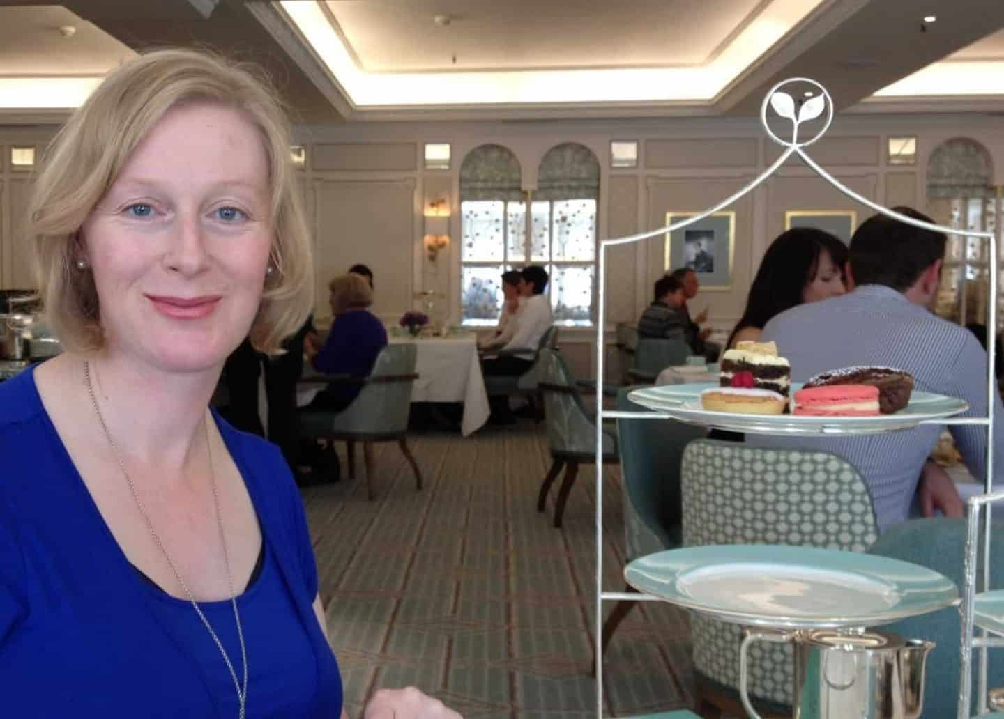 GUEST POST: Posh afternoon tea, but gluten free