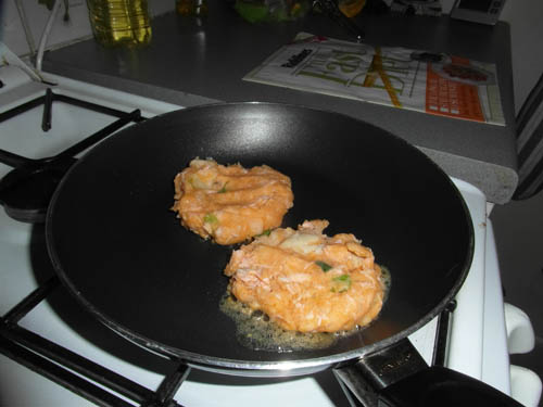 Fry in coconut oil for a healthy option.