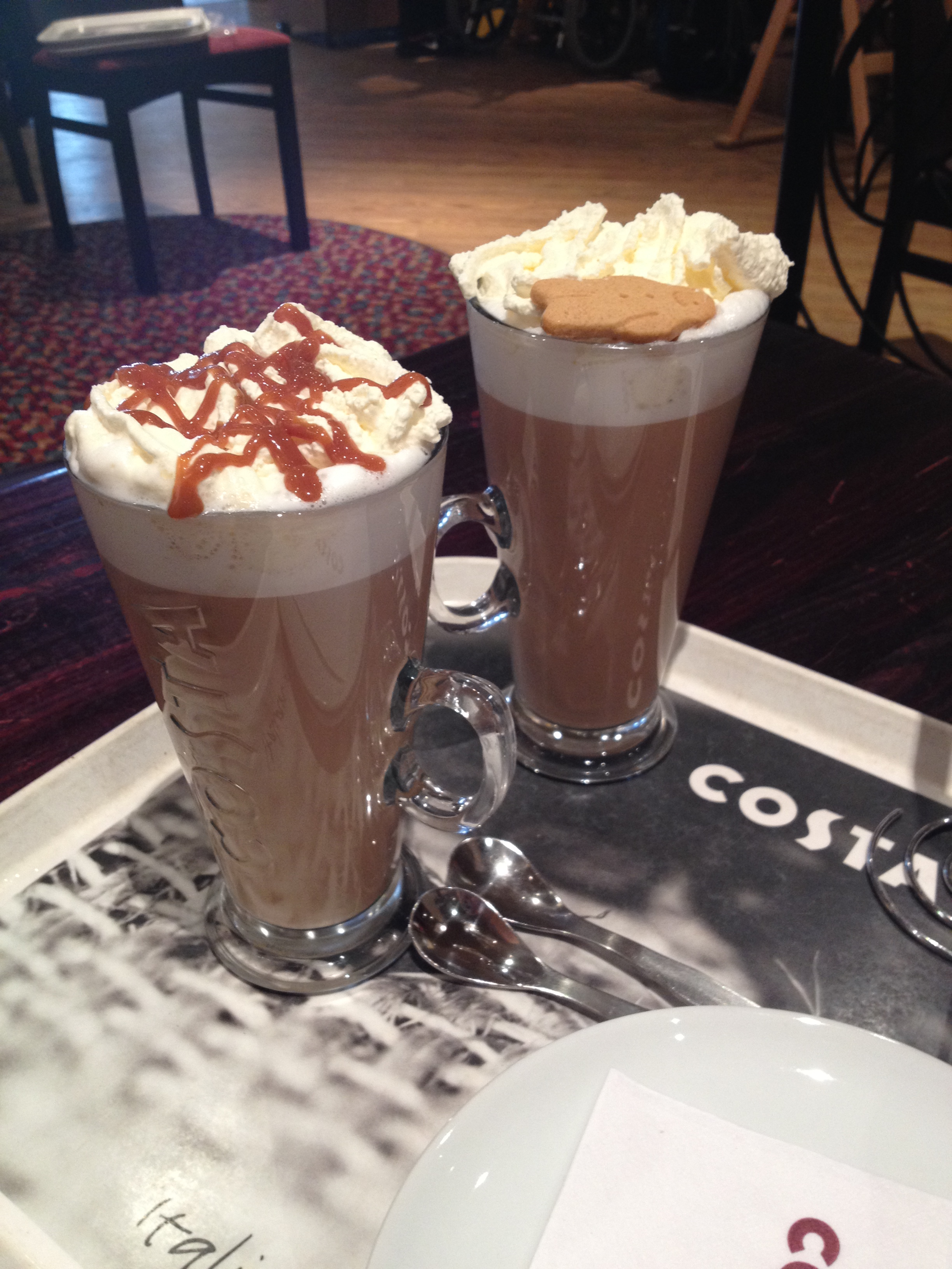 Christmas Coffees At Costa Coffee Whats Gluten Free