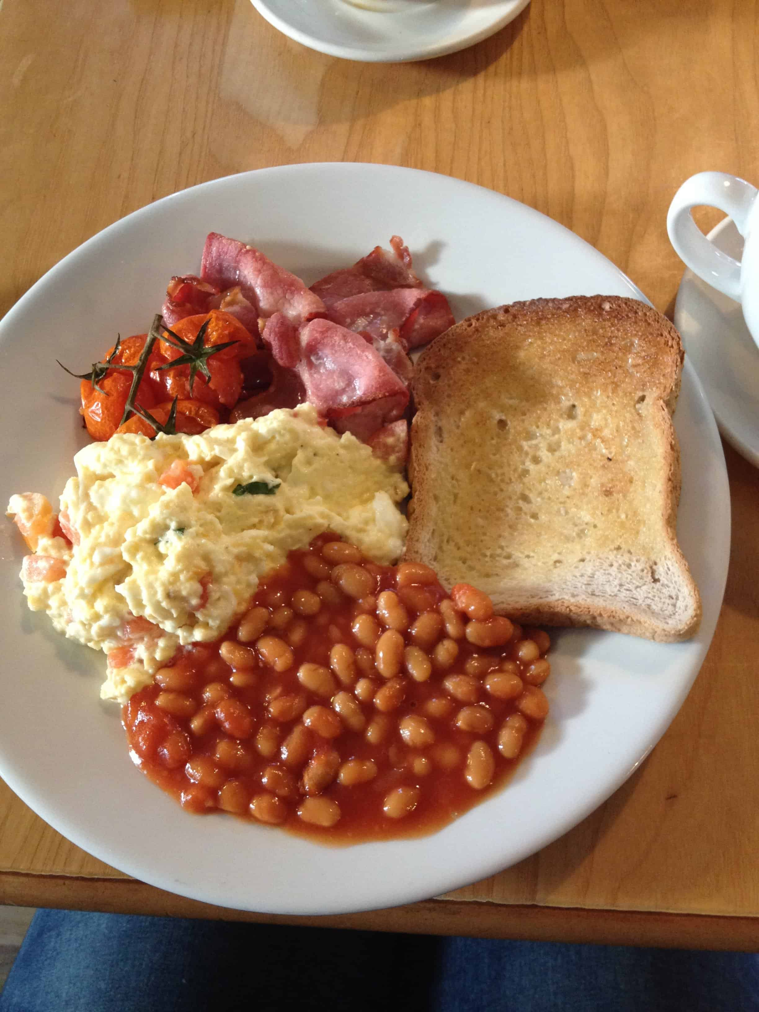 Gluten free breakfast heaven at Boston Tea Party, Barnstaple