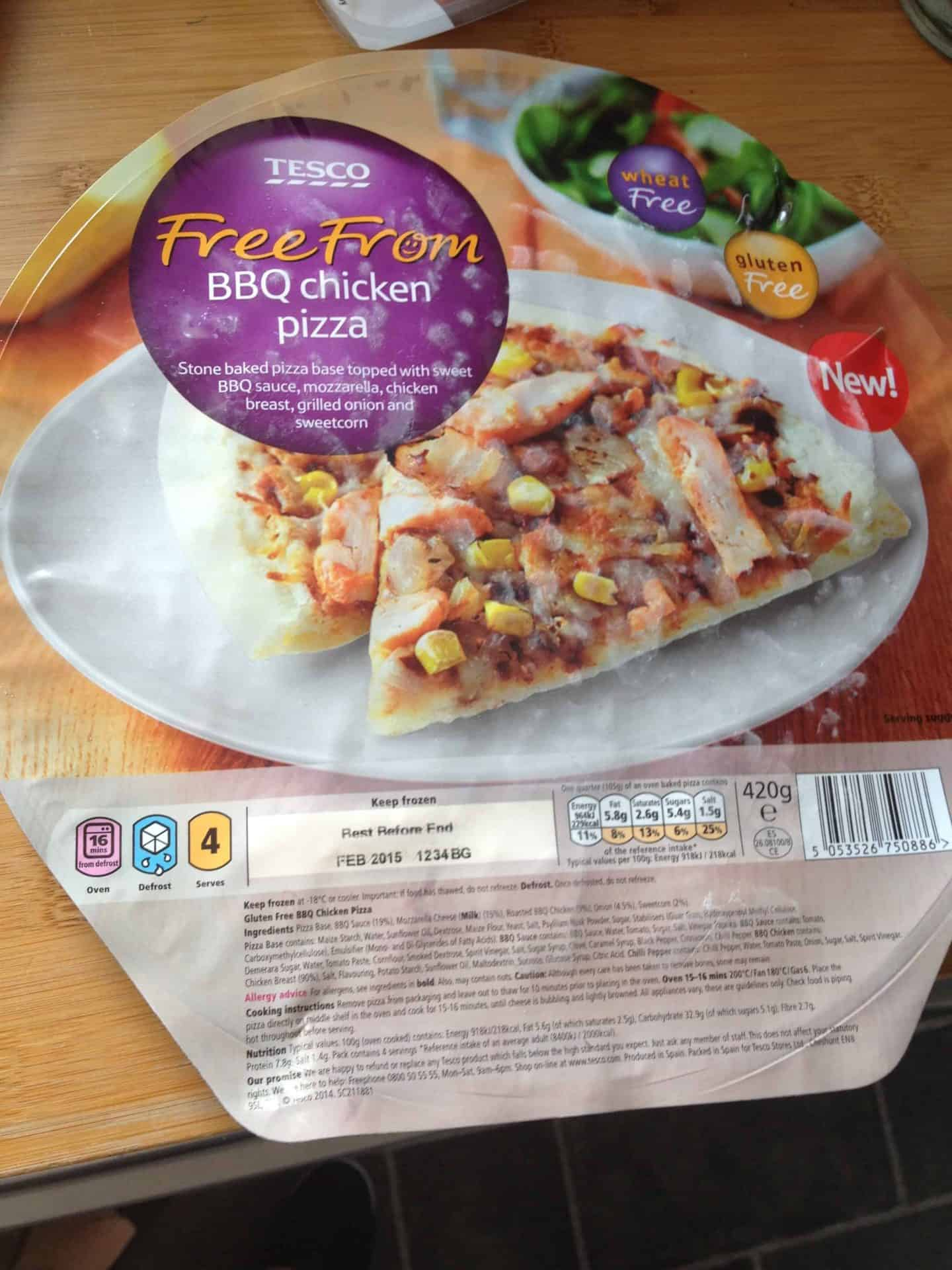 My pre-'gluten free guarantee' rant at Tesco