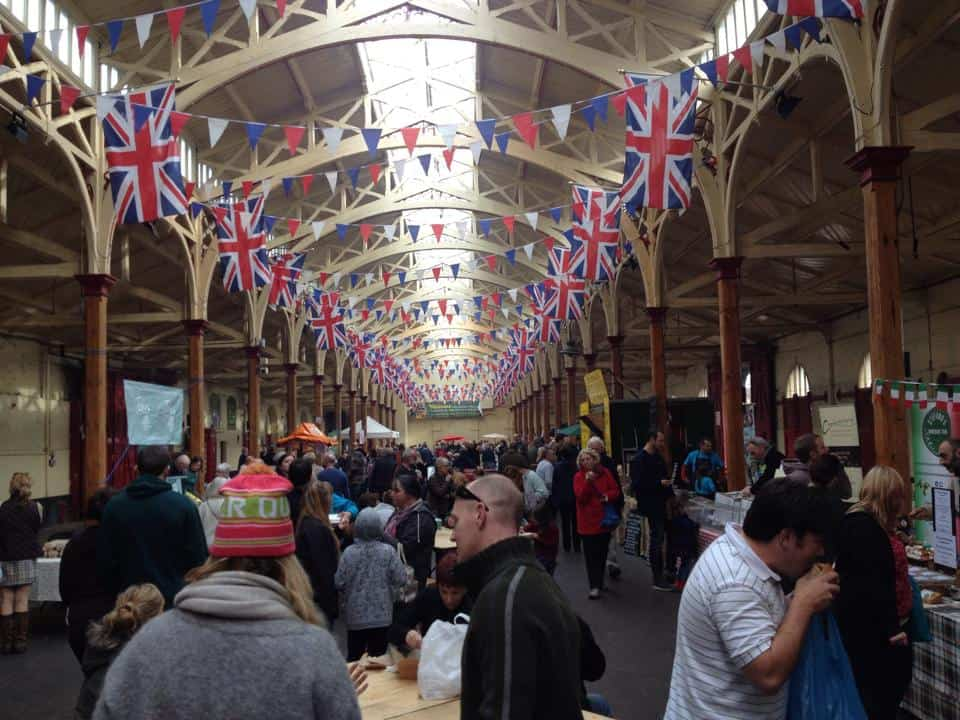 The Barnstaple Real Food Market.