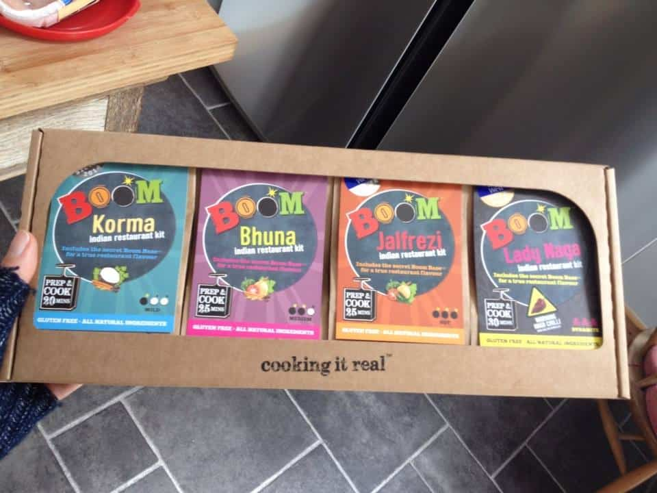 Gluten free curry kit from Boom Kitchen!