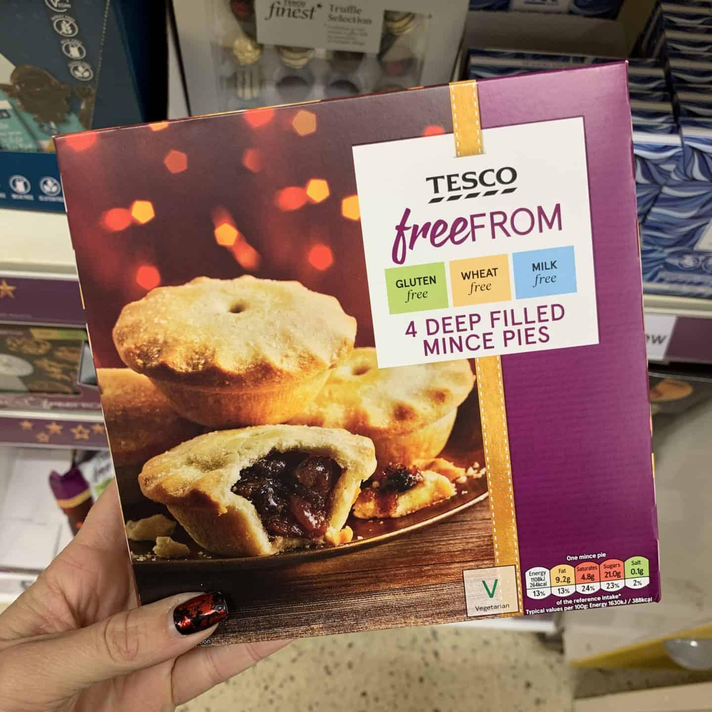 gluten free mince pies tesco