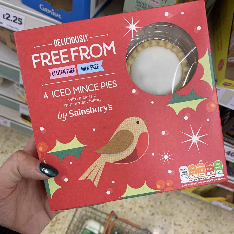 sainsburys gluten free mince pies 1