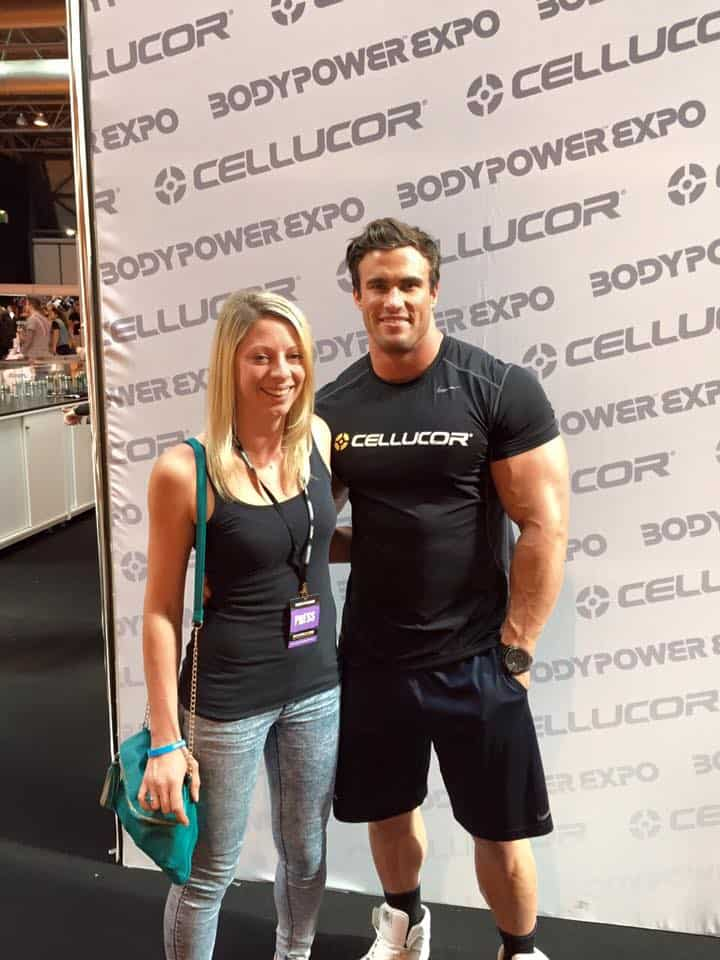 Meeting Calum von Moger was pretty fun. BICEPS!