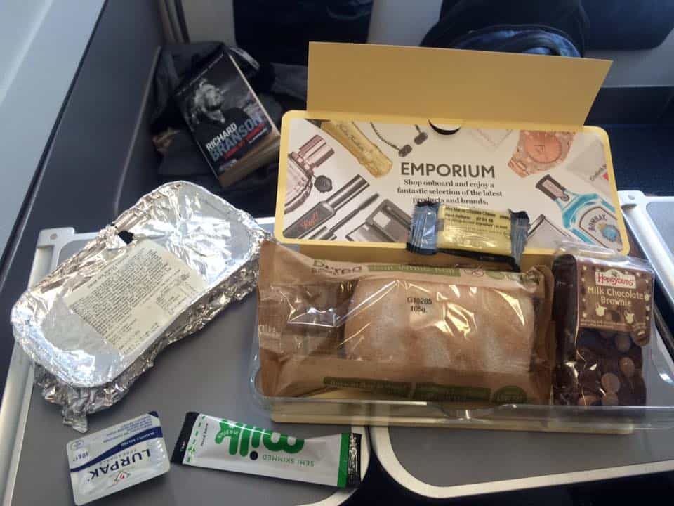 My gluten free meal on Thomas Cook.