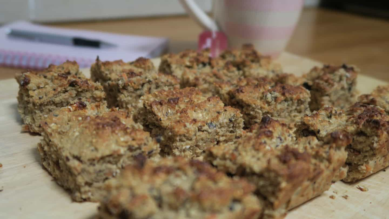 Recipe: Gluten free carrot cake protein bites