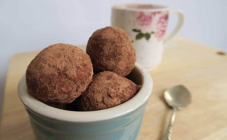 Recipe: Gluten free peanut protein balls