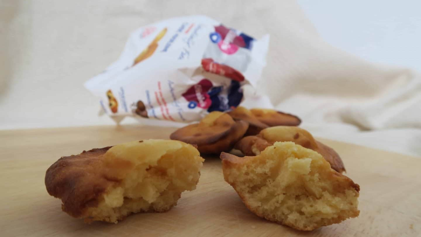 Review: New gluten free Madeleines from Mrs Crimbles