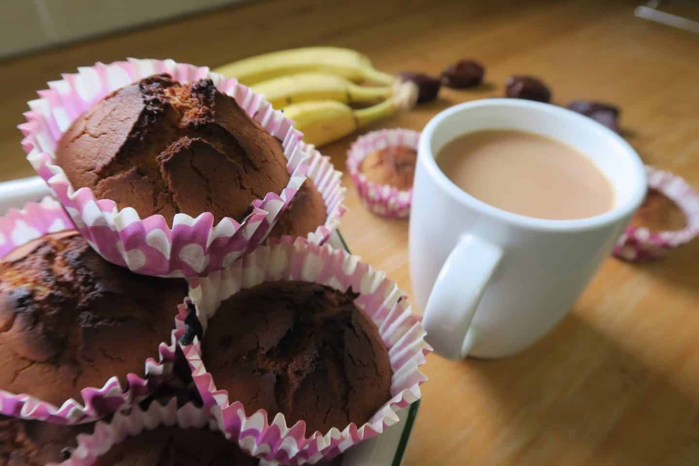 Recipe: Gluten free banana and date quinoa muffins – with video!