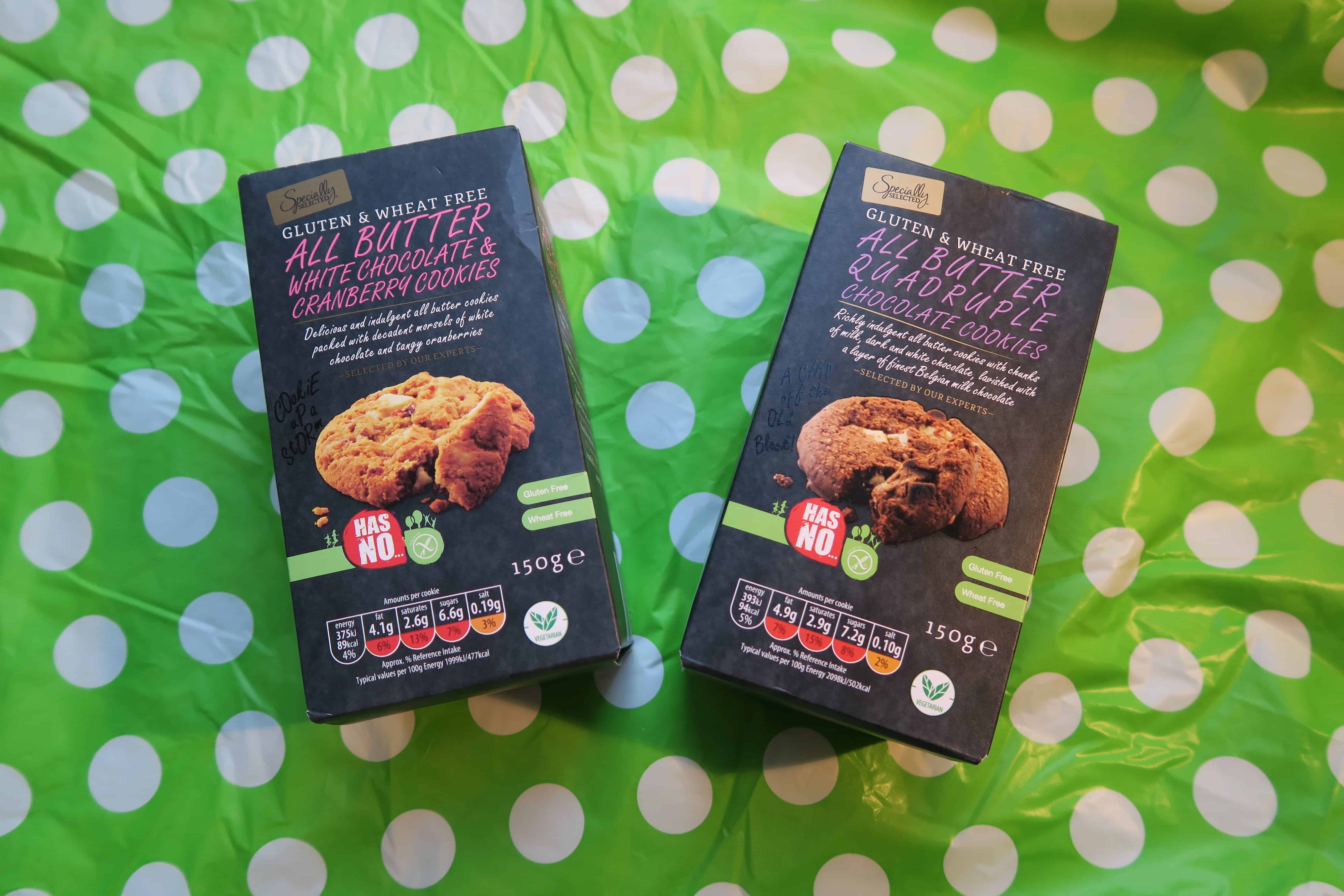 gluten and wheat free cookies aldi