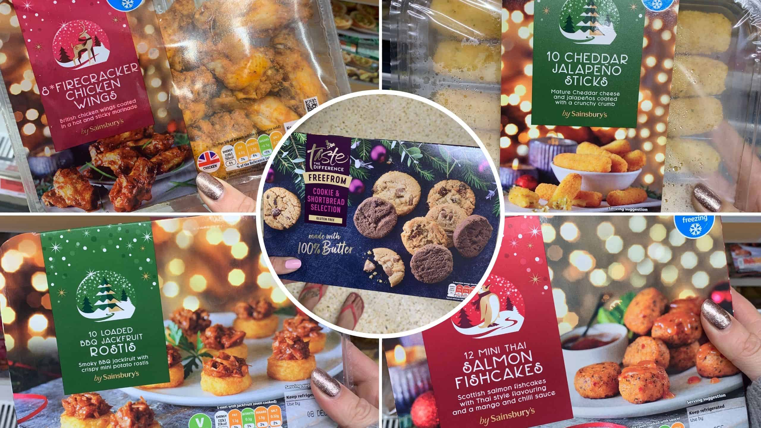Gluten And Dairy Free Christmas Food In Sainsburys The