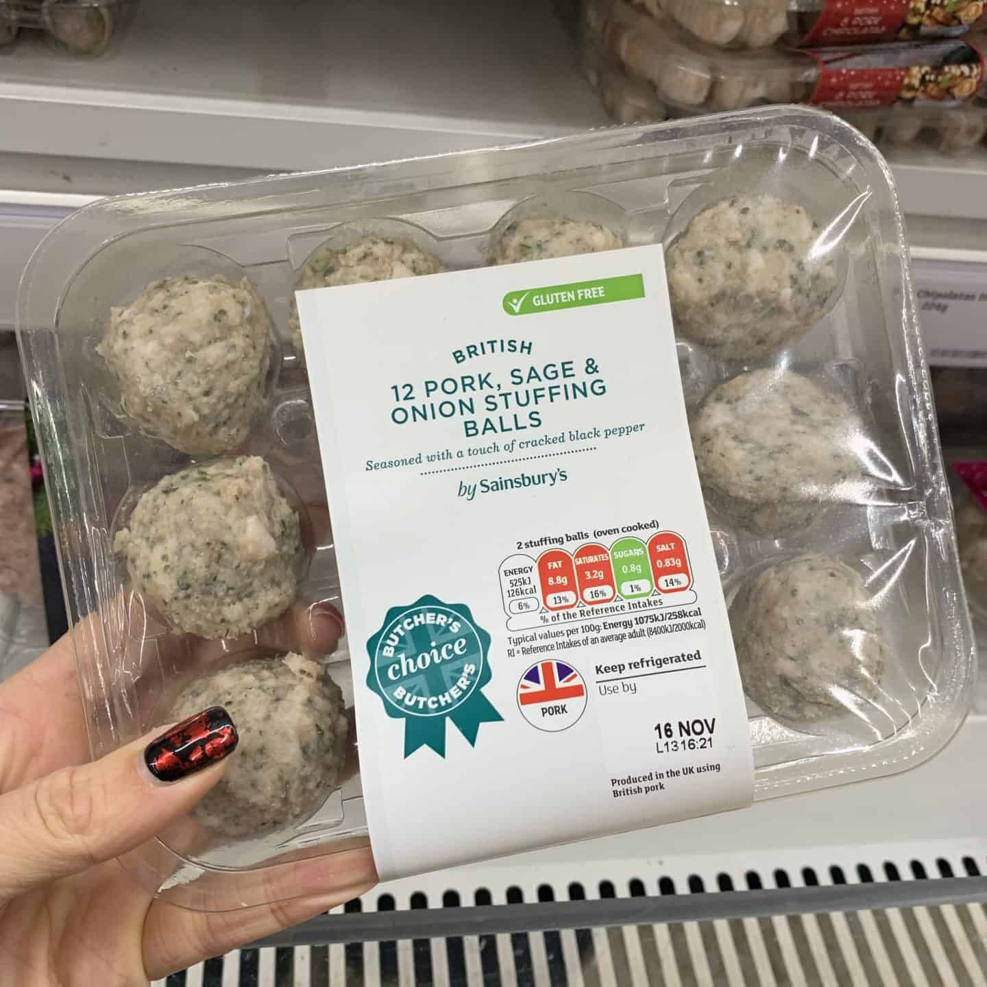 gluten free christmas food sainsburys 5