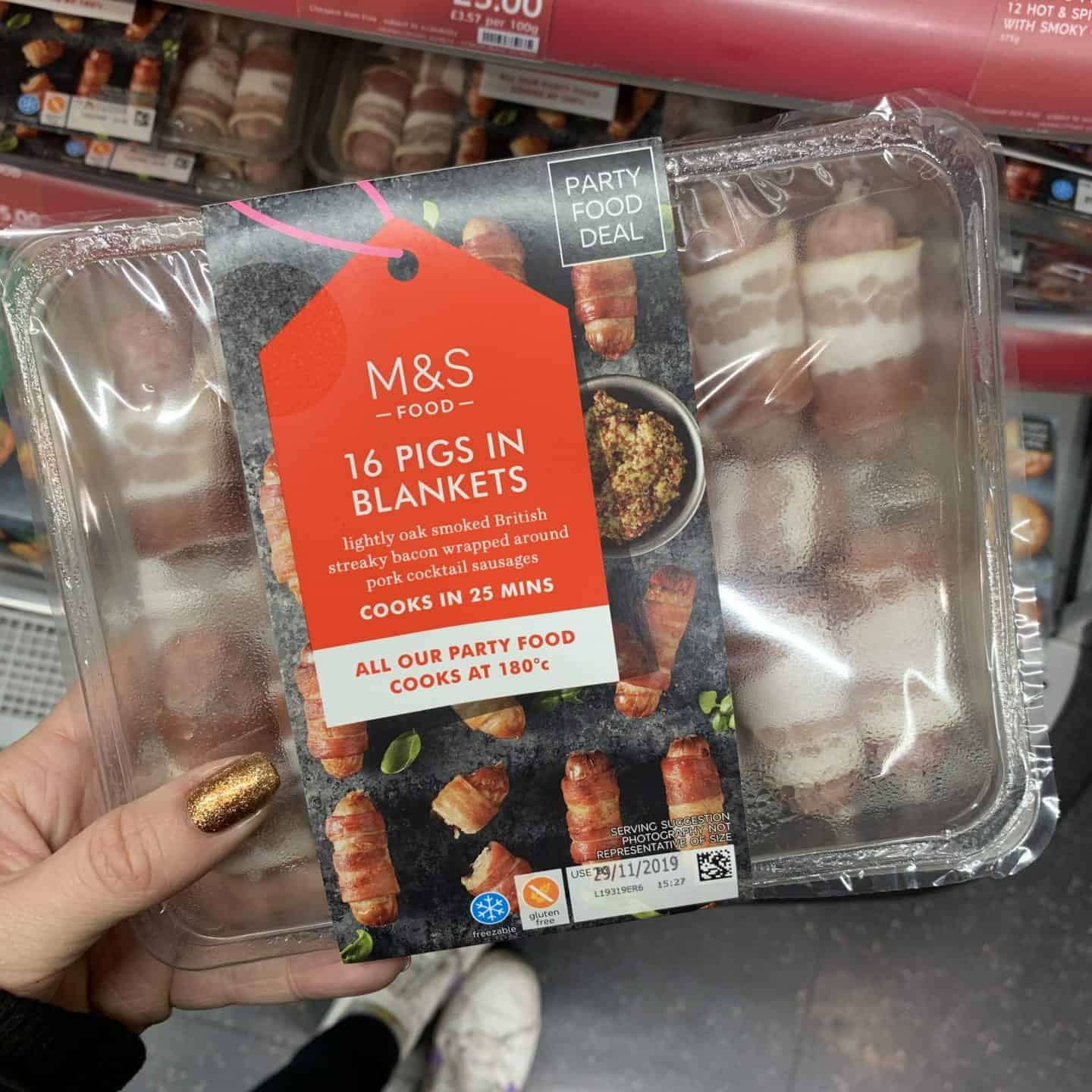 gluten free marks and spencers christmas food