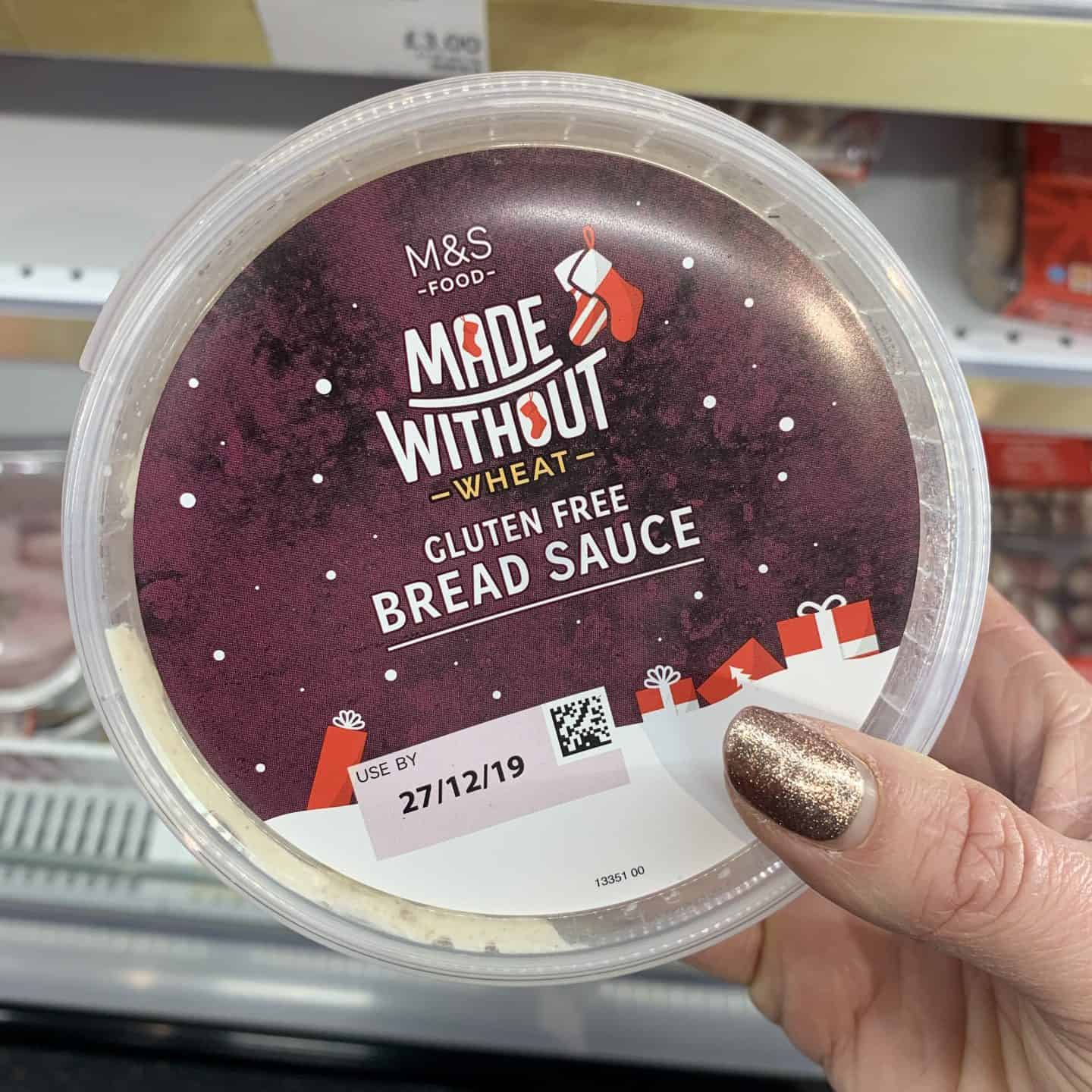 marks and spencer gluten free christmas food