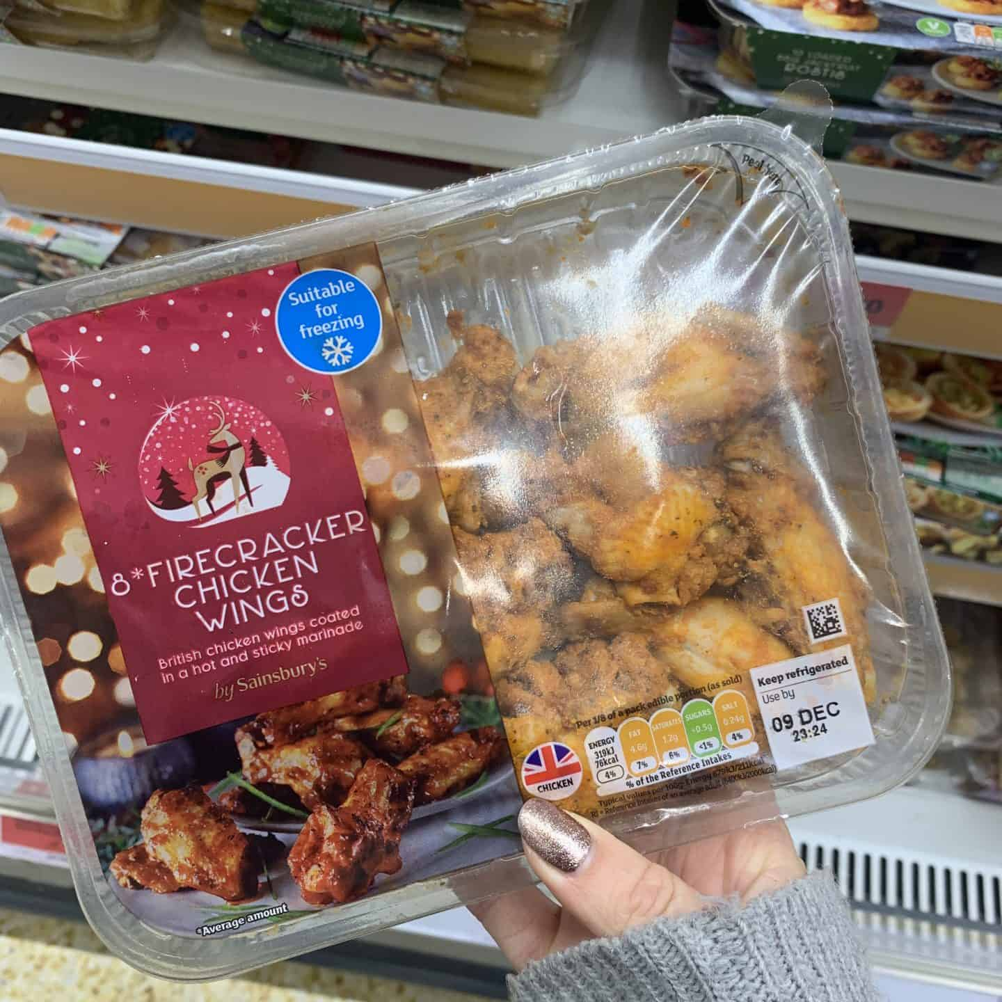 sainsburys gluten free christmas party food 2