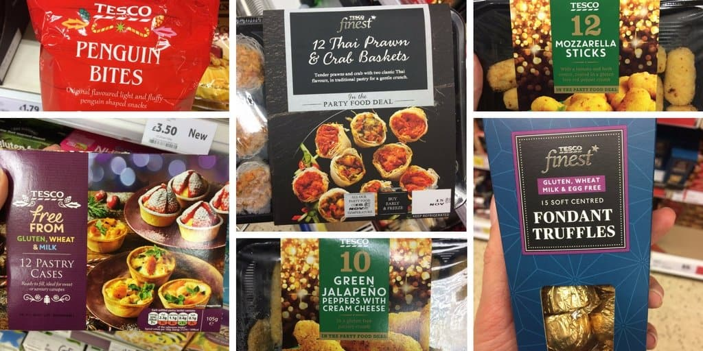 Free from Christmas: Gluten and dairy free Christmas food in Tesco