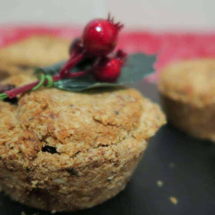 Healthy gluten free mince pies
