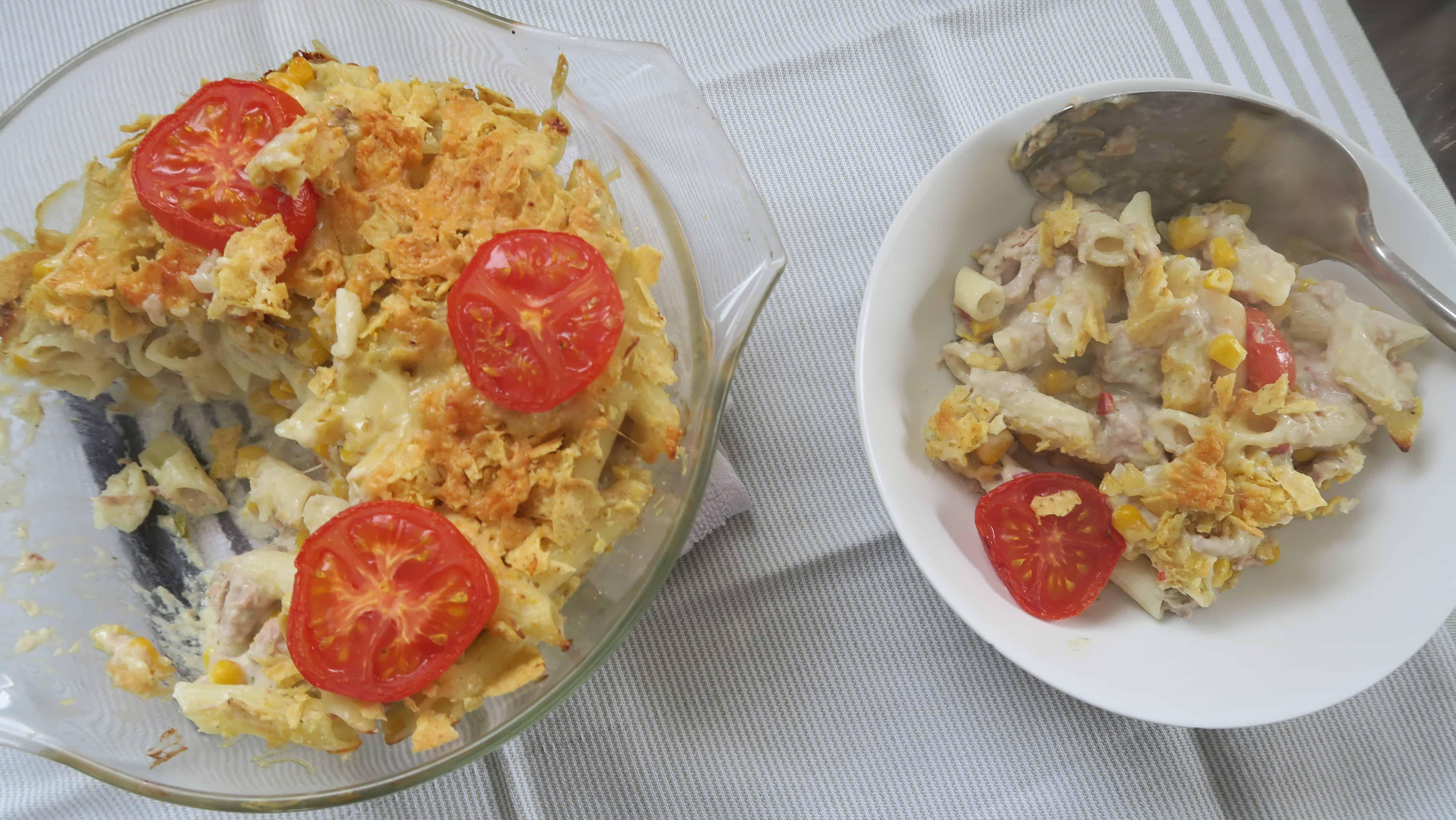 Gluten free tuna pasta bake with Thornleys Natural Foods ...