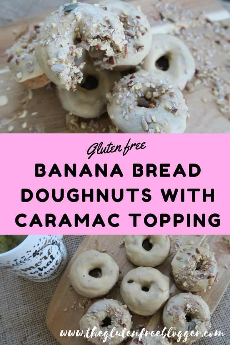Gluten free banana bread doughnuts recipe