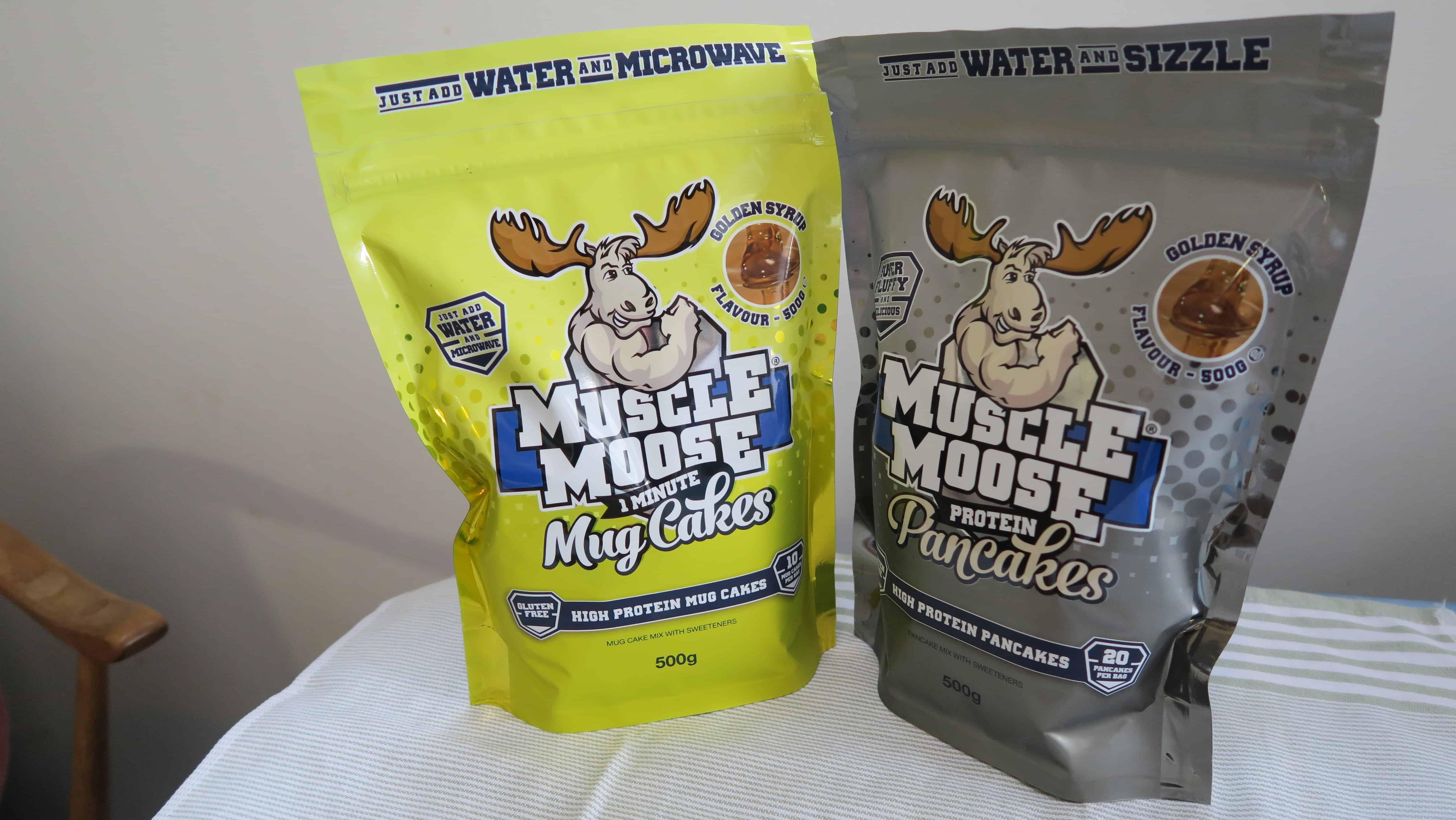 muscle moose mug cakes and muscle moose pancakes