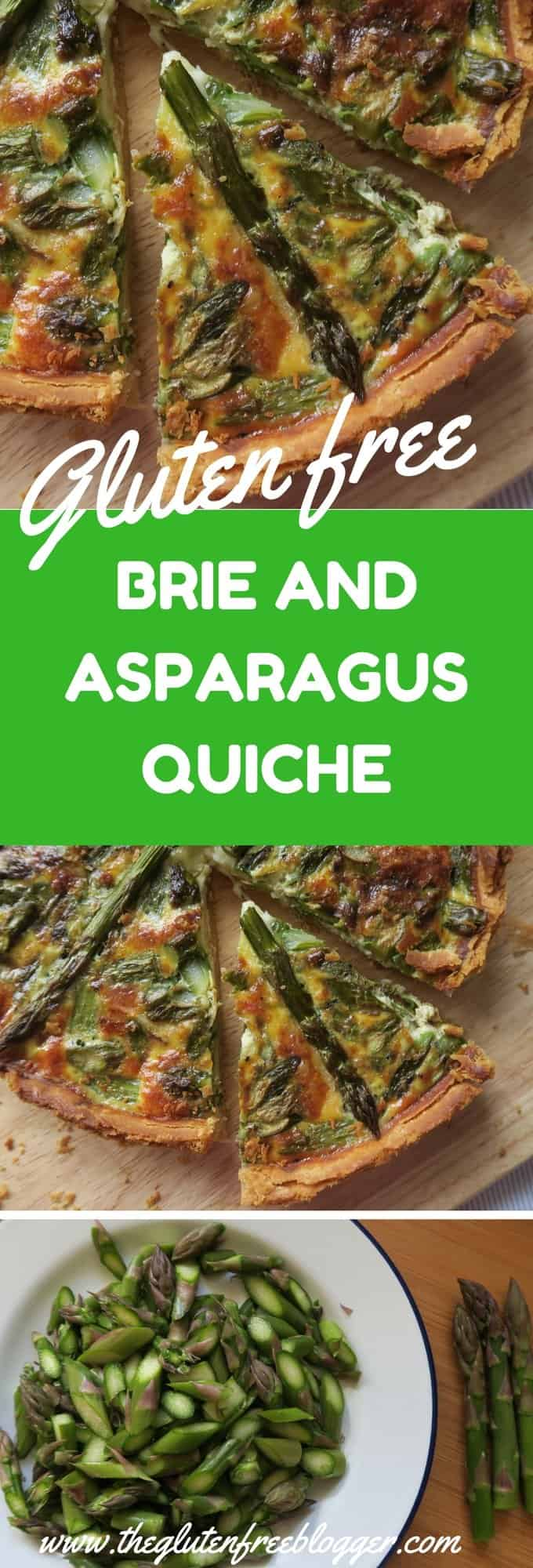 ... asparagus quiche is perfect gluten free picnic food - The Gluten Free
