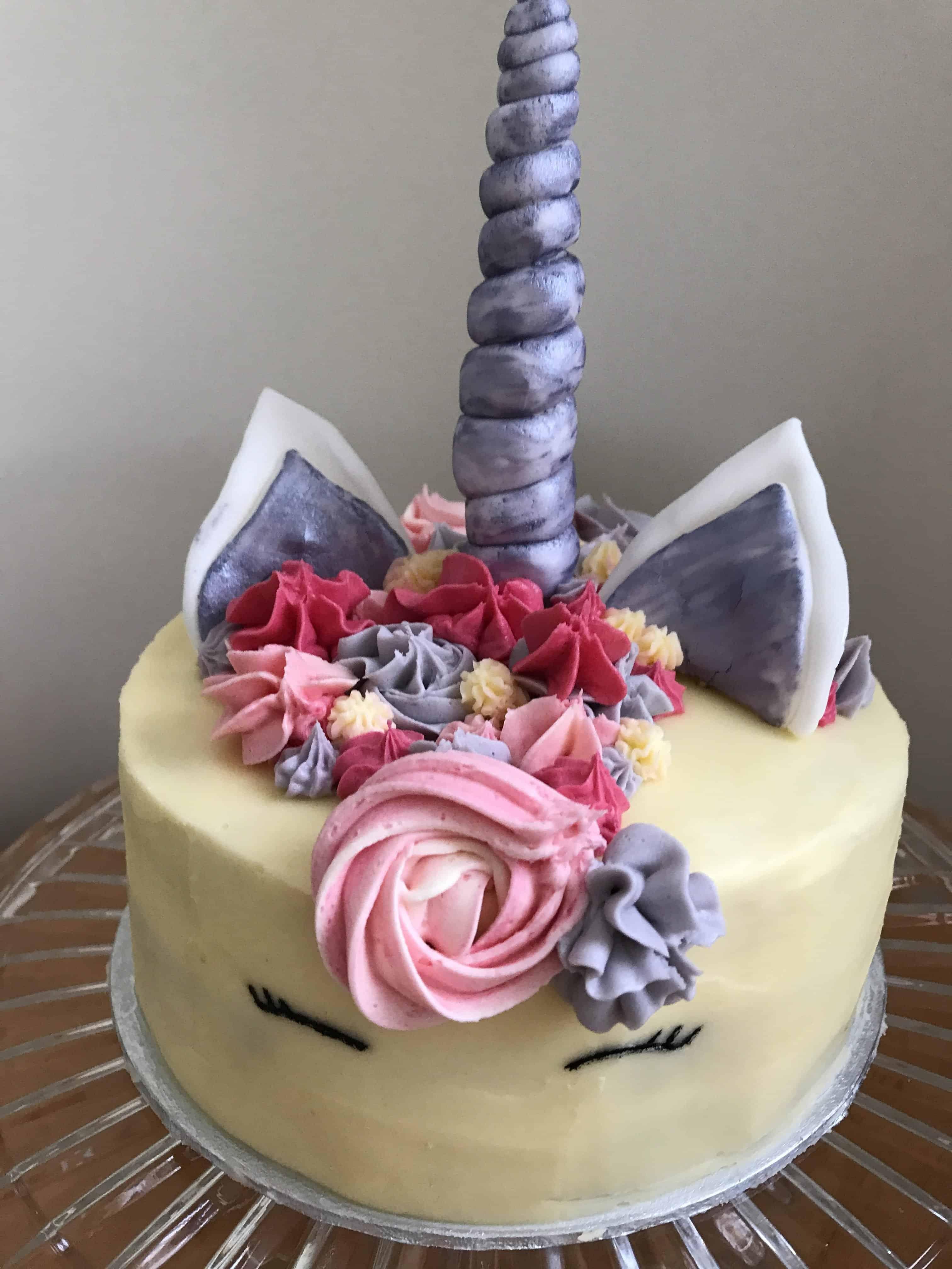 gluten free north devon unicorn cakegluten free north devon unicorn cake