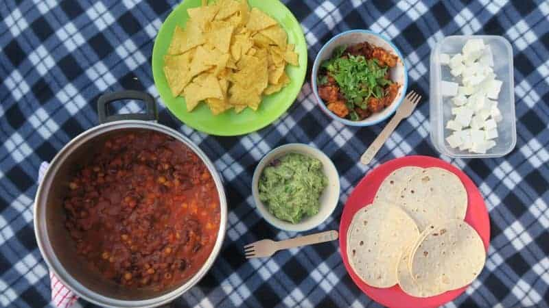 My gluten free Mexican dinner party for friends with Schwartz