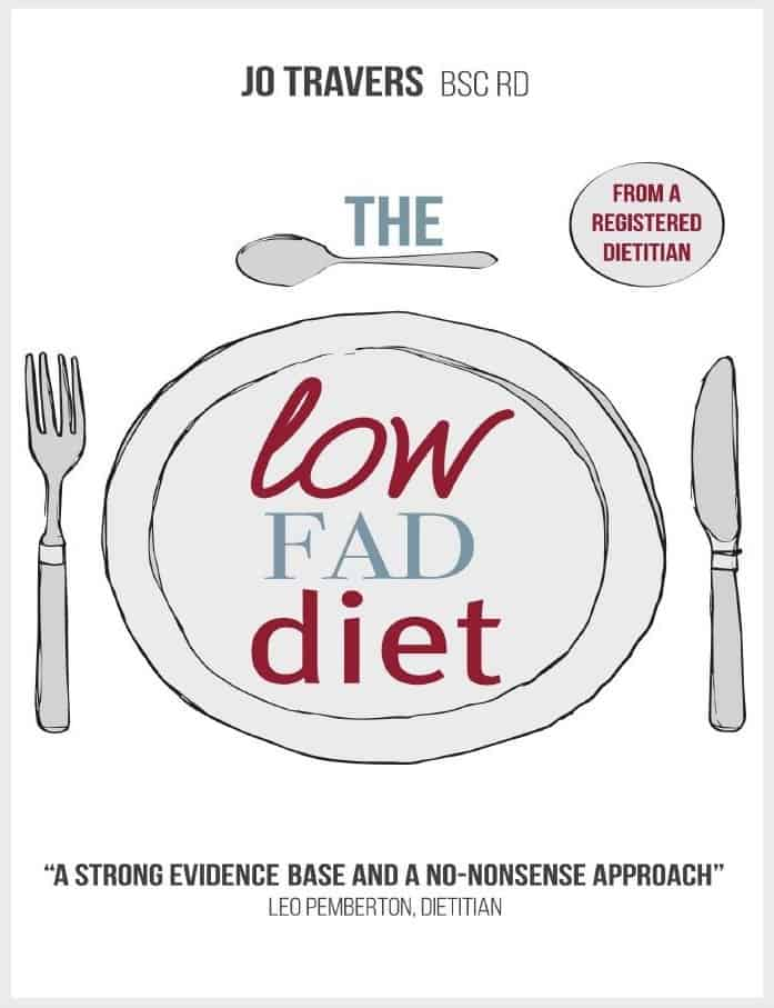 The Low Fad Diet Jo Travers front cover