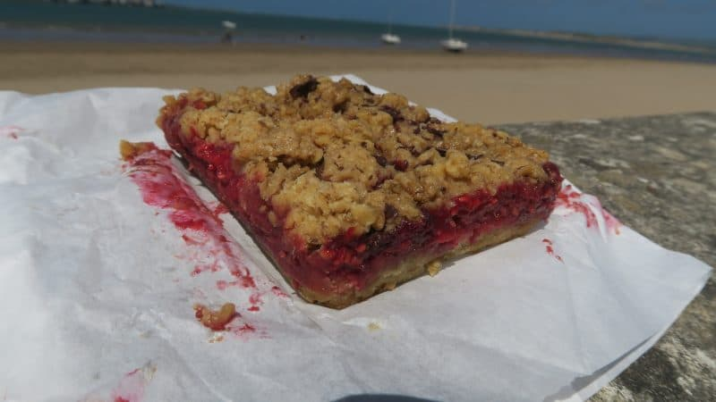 gluten free raspberry crumble bake and brew yelland