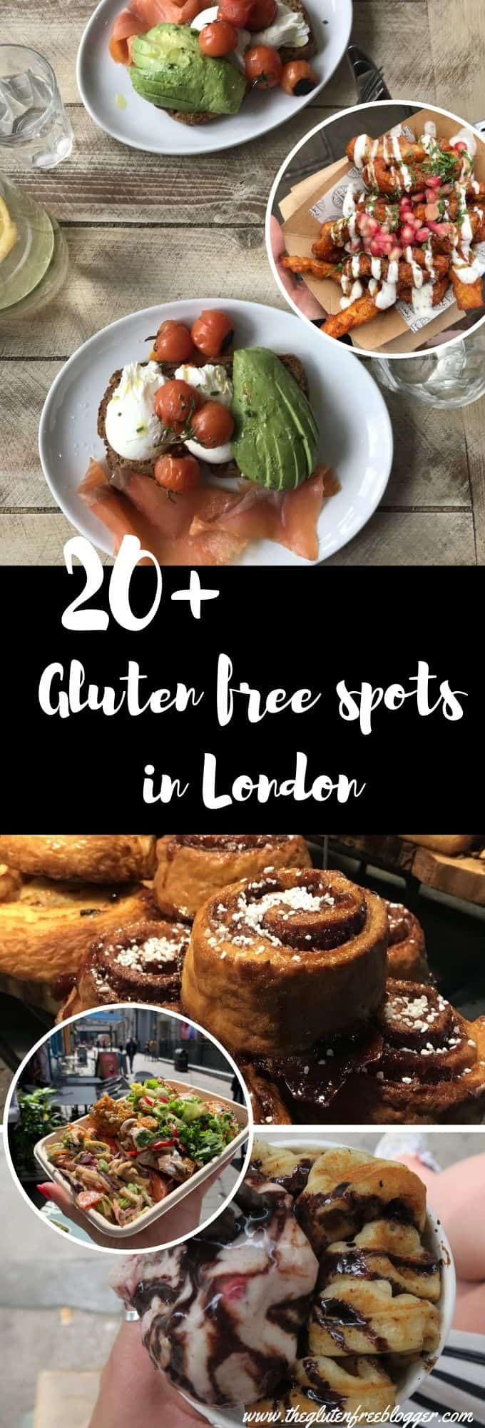 gluten free places to eat in London, UK, with coeliac disease (1)