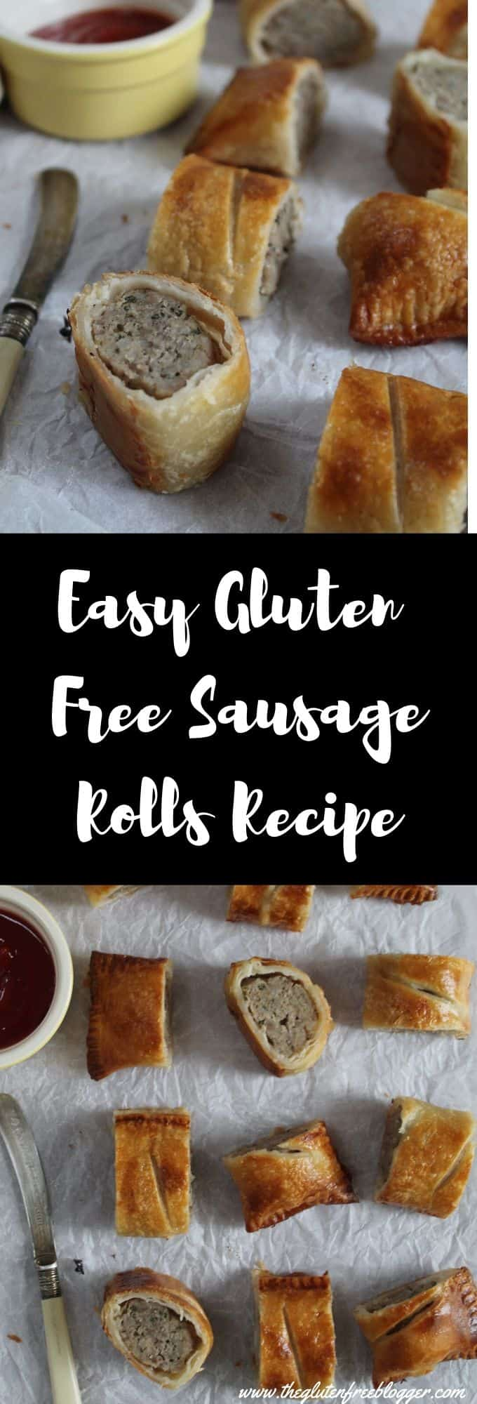 GLUTEN FREE SAUSAGE ROLLS RECIPE easy gluten free party food christmas ideas
