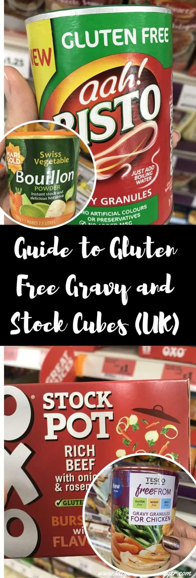 gluten free gravy and stock cubes guide uk coeliac celiac tips