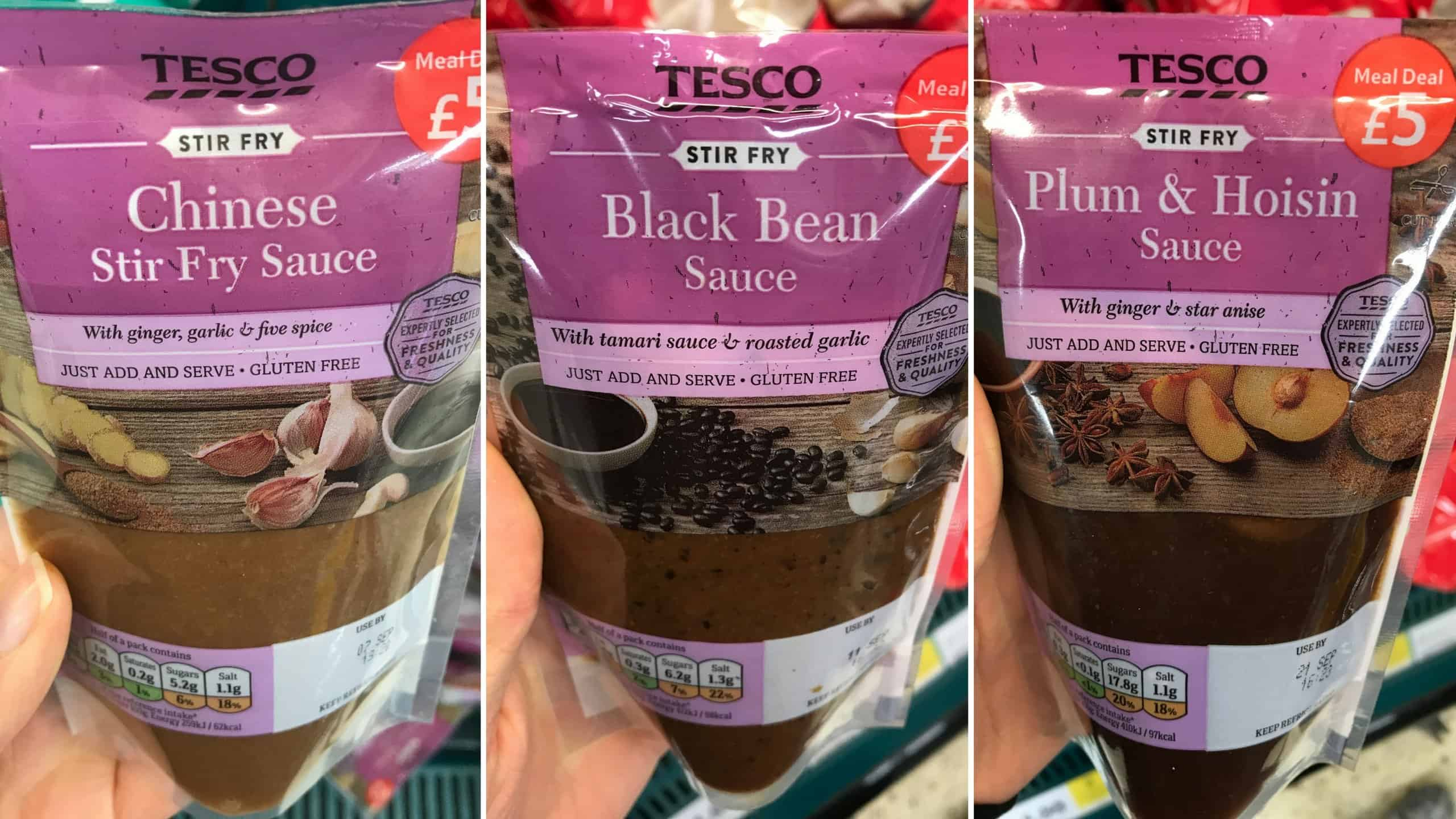 gluten free tesco chinese stir fry sauces