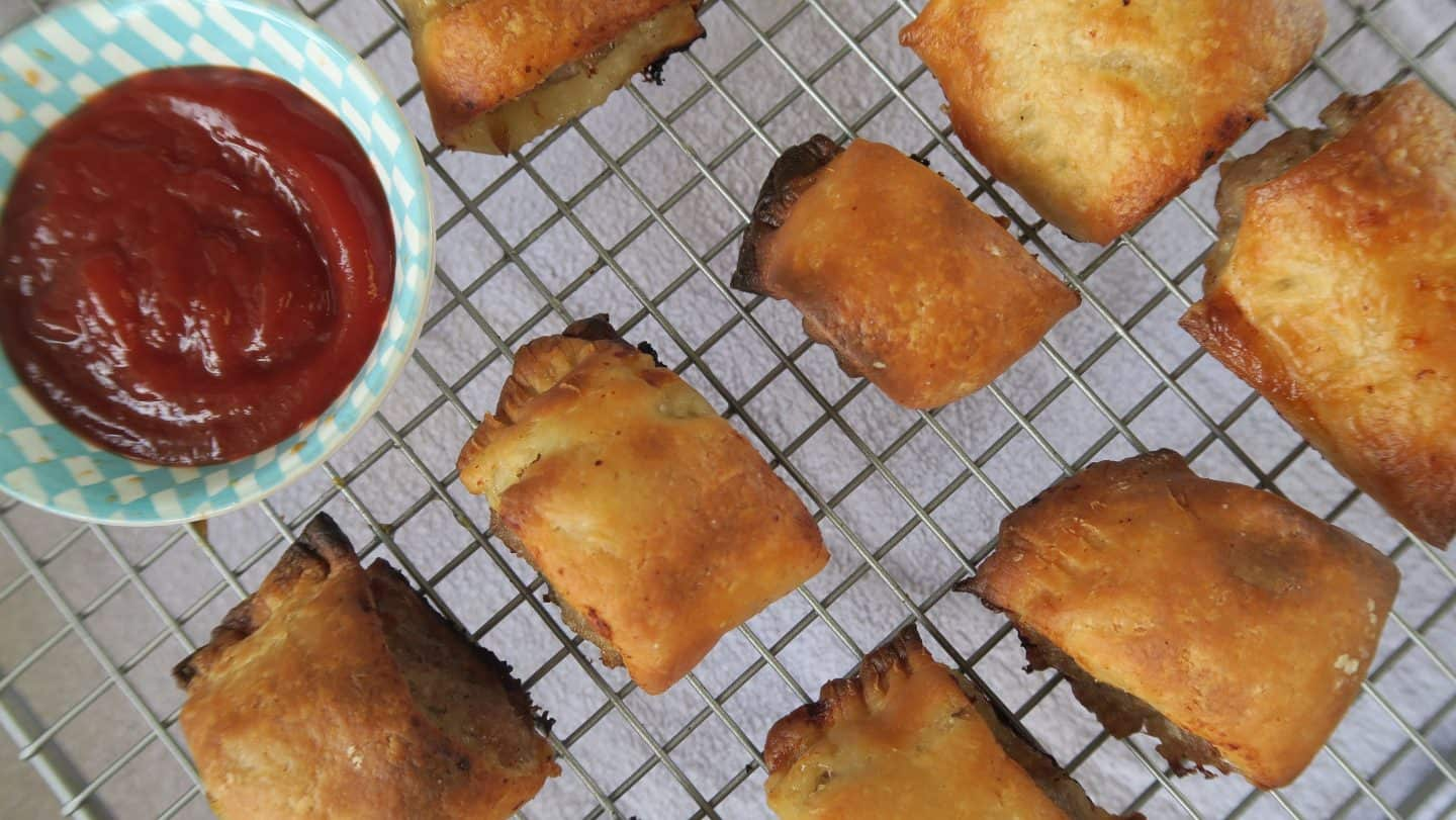 Recipe: gluten free sausage rolls – perfect for picnics or lunchboxes