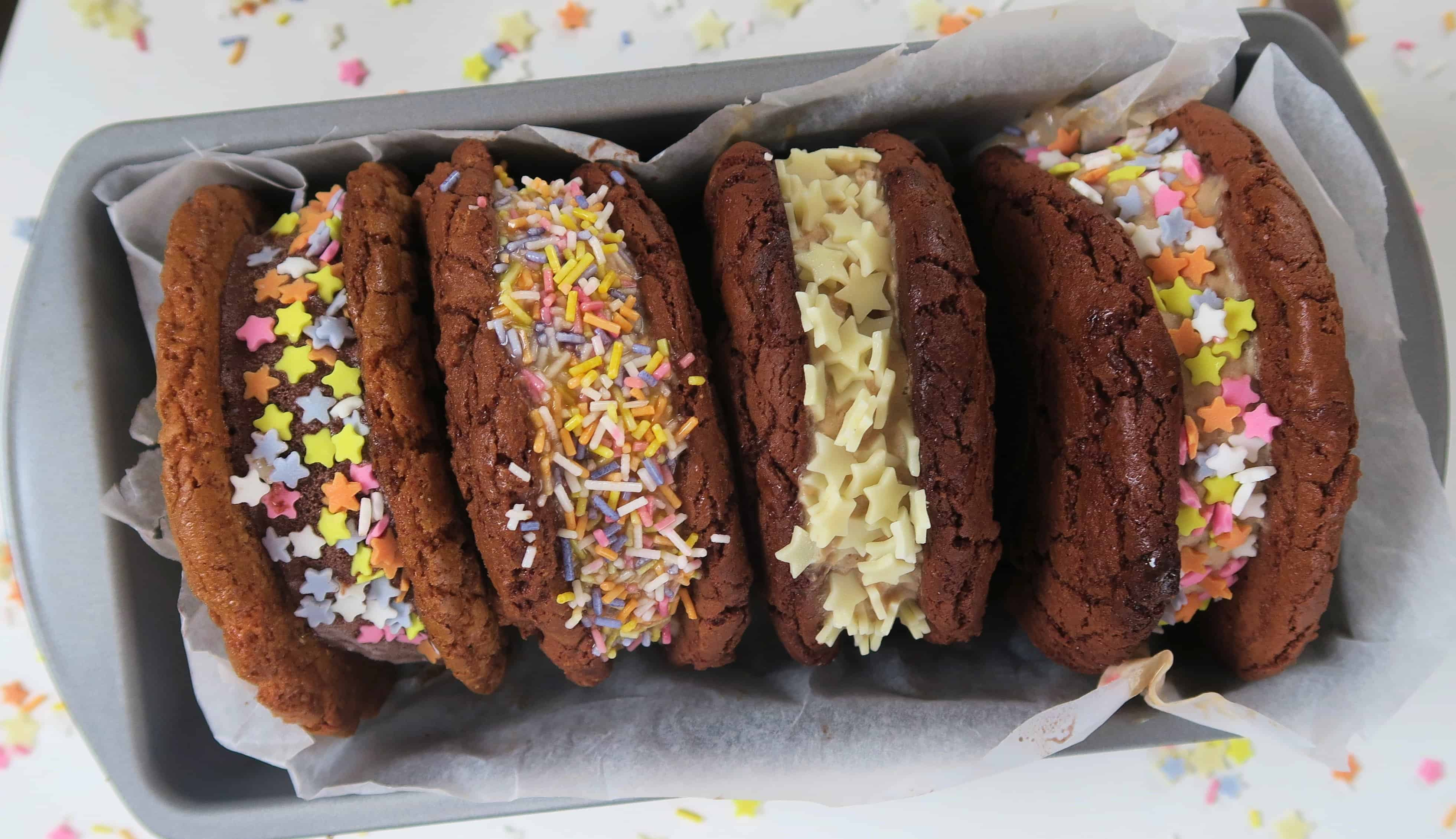 gluten free cookie recipe ice-cream sandwiches
