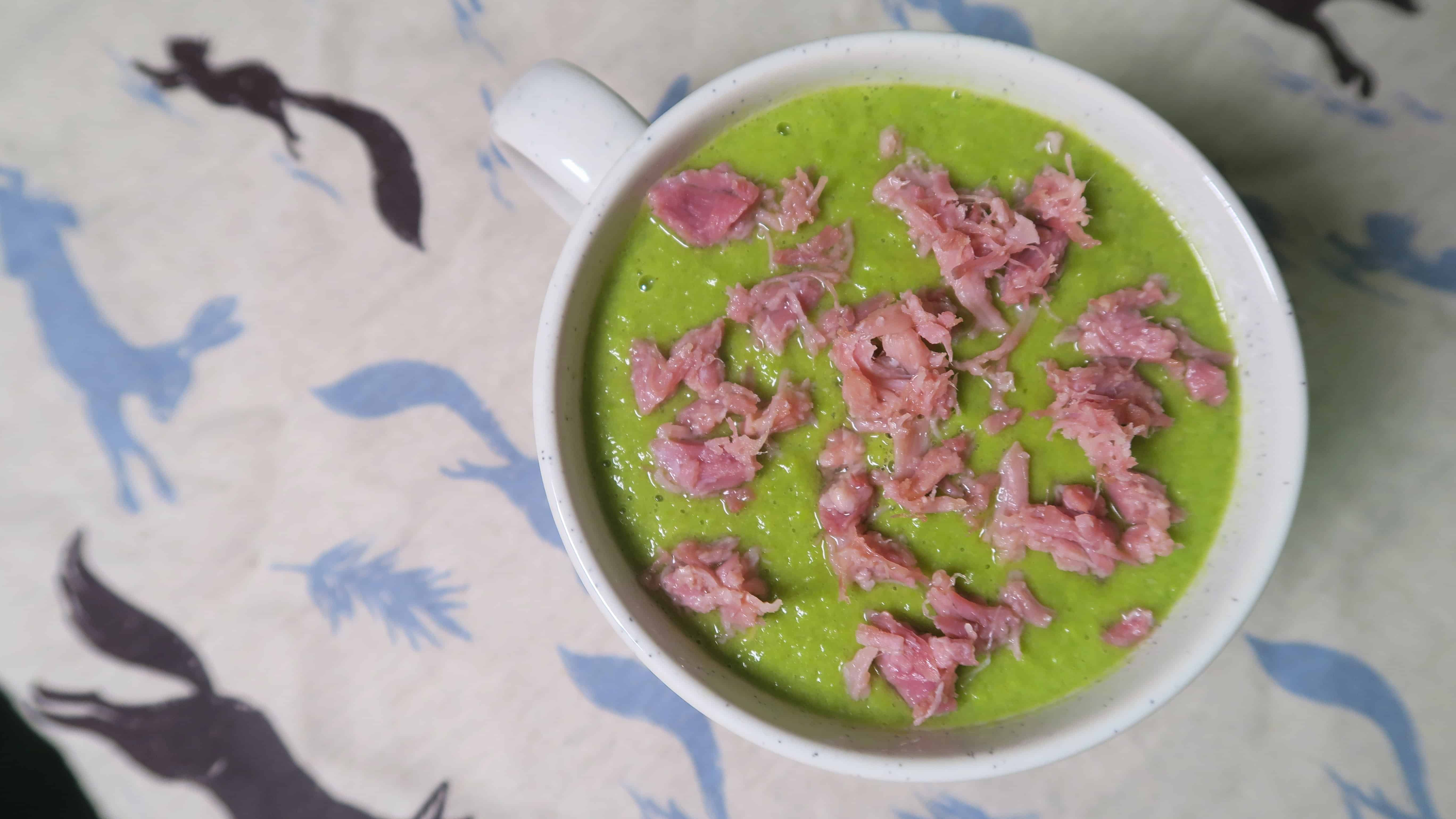 how to make pea and ham soup youtube