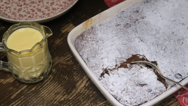 GLUTEN FREE BREAD PUDDING RECIPE WITH AMARETTO 2