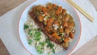 Gluten free katsu curry recipe