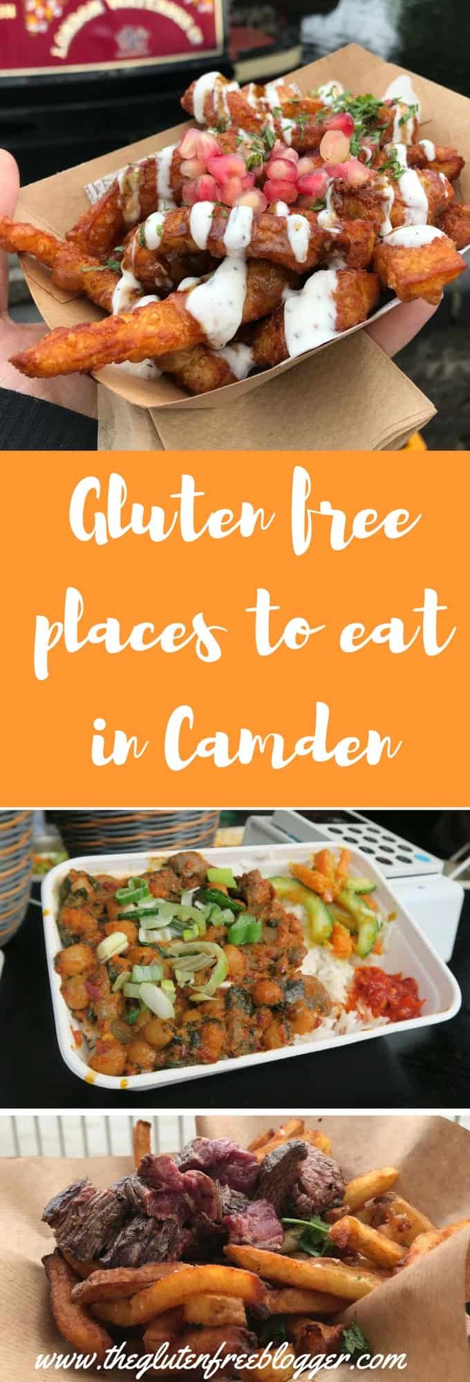 Gluten free places to eat in Camden - gluten free London - London food - www.theglutenfreeblogger.com