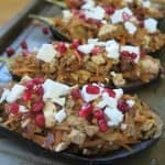 Gluten free stuffed aubergines recipe