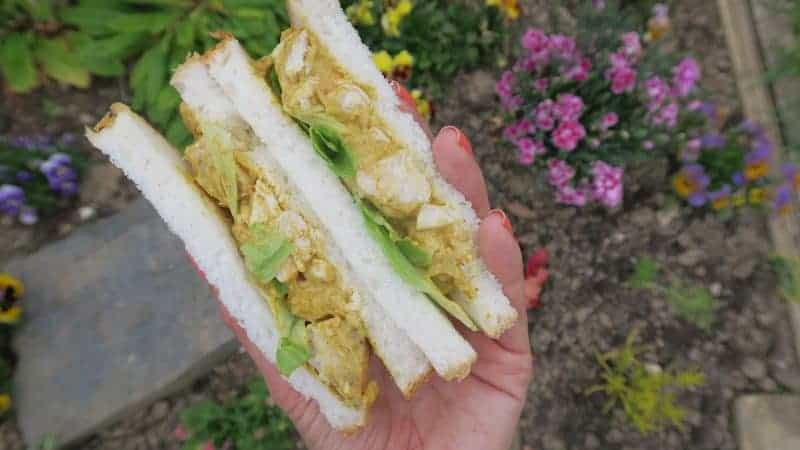 gluten free sandwiches coronation chicken recipe