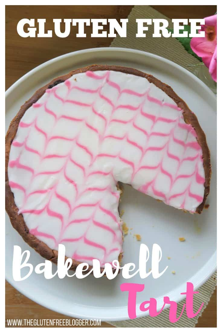 gluten free bakewell tart - bakewell tart recipe - bake off- great british bake off - mary berry - gluten free pastry - coeliac recipe